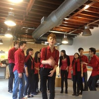 Photo taken at LGBT Center by Kate M. on 12/8/2012