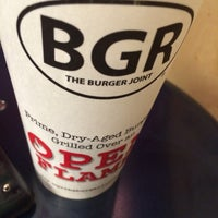 Photo taken at BGR - The Burger Joint by Nicole W. on 12/28/2015