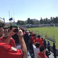 Photo taken at Estadio 10 de Diciembre by @PaLiitOuW C. on 2/3/2013