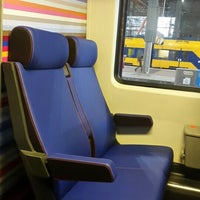Photo taken at Intercity Direct Breda - Amsterdam Centraal by Eva H. on 11/19/2015