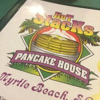 Photo taken at Hot Stacks Pancake House by Emily M. on 2/23/2013