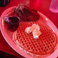 Photo taken at Roscoe's House of Chicken and Waffles by Richard D. on 4/11/2013