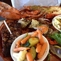 Photo taken at Rustic Inn Seafood Crabhouse by BigMouthGirlz on 7/20/2013
