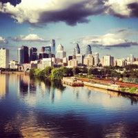Photo taken at South Street Bridge by Priscilla L. on 10/29/2012