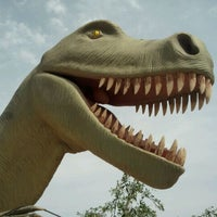 Photo taken at Cabazon Dinosaurs by Jane P. on 4/8/2012