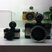 Photo taken at Lomography Gallery Store Madrid-Argensola by Juano M. on 6/14/2012