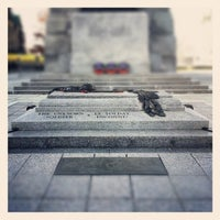 Photo taken at Cenotaph and Tomb of the Unknown Soldier by Gurjeet S. on 11/7/2012
