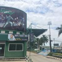 Photo taken at Leo Stadium by Chotiwat M. on 8/6/2016