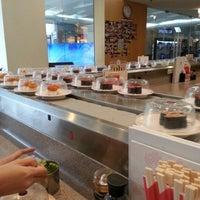 Photo taken at Sushi King by Ee Xin U. on 10/12/2012