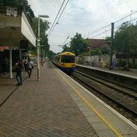 Photo taken at Hampstead Heath London Overground Station by Eric R. on 8/25/2016