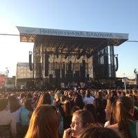 Photo taken at Hersheypark Stadium by Nicia C. on 7/7/2013