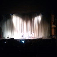 Photo taken at Teatro Abril by Cinthia S. on 9/26/2014