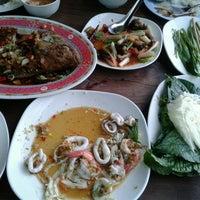 Photo taken at ร่มไม้ริมนา by Mindd M. on 8/13/2016