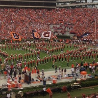 Photo taken at Pat Dye Field at Jordan-Hare Stadium by Anne Mims A. on 9/1/2013