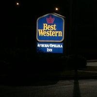Photo taken at Best Western Auburn/Opelika by Andrew M. on 2/20/2016