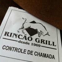 Photo taken at Rincão Grill by Paulo G. on 1/27/2013