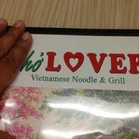 Photo taken at Pho Lover by Super J. on 2/7/2013