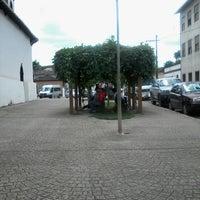 Photo taken at Igreja do Rosário by Carolina M. on 3/17/2014
