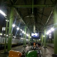 Photo taken at Stasiun Gambir by Naraya Dewi on 7/1/2013