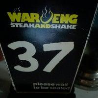 Photo taken at Waroeng Steak & Shake by Immawan N.S. A. on 5/1/2016