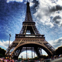 Photo taken at Eiffel Tower by Pierre L. on 7/6/2013