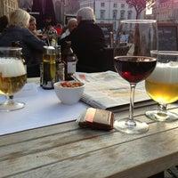 Photo taken at Restaurant De Graslei by Pieterjan H. on 2/18/2013