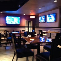 Photo taken at Half Moon Windy City Sports Grill by Petey P. on 10/21/2013