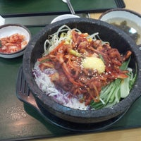 Photo taken at The Palace Korean Restaurant by Minji Y. on 8/21/2014