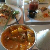 Blu Ginger Thai Cafe Menu