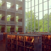 Photo taken at Malmö Stadsbibliotek by Heewa B. on 7/21/2012