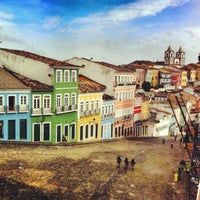Photo taken at Largo do Pelourinho by Mariusz M. on 11/5/2012