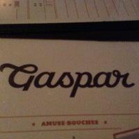 Photo taken at Taverne Gaspar by Jason S. on 11/23/2012
