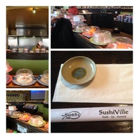 Photo taken at Sushiville by Simon T. on 2/13/2014