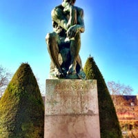 Photo taken at Jardin du Musée Rodin by Josh A. on 2/17/2013