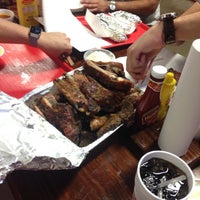 Photo taken at Cooper's Old Time Pit Bar-B-Que by Joel O. on 5/24/2015