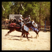 Photo taken at Sherwood Forest Faire by Kelly K. on 3/25/2013