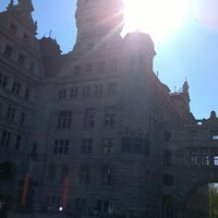 Photo taken at Burgplatz by Cord V. on 4/20/2014