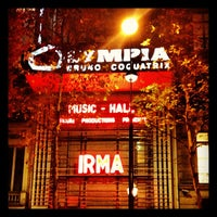 Photo taken at L'Olympia by Vincent N. on 11/13/2012
