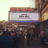 Photo taken at Apollo Theater by Victor A. on 9/17/2012