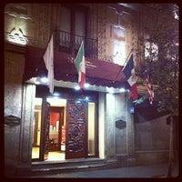 Photo taken at Hampton Inn & Suites by Eugenio R. on 12/9/2012