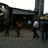 Photo taken at MetrôRio - Estação Uruguaiana by Denise L. on 7/9/2013