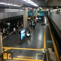 Photo taken at MetrôRio - Estação Central by Denise L. on 8/6/2013