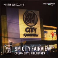 Photo taken at SM City Fairview by jose a. on 6/2/2013