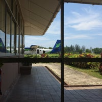 Photo taken at Mukah Airport (MKM) by cheah b. on 4/17/2016