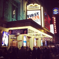 Photo taken at Longacre Theatre by Dan on 11/22/2013