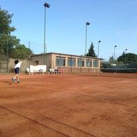 Photo taken at Tennis Club Umberto by Raphael T H. on 6/2/2013
