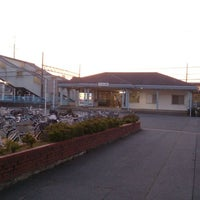 Photo taken at Tsuzumigaura Station by tuji.jp (. on 5/9/2014