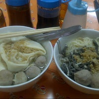 Photo taken at Mie Baso Aladin by Whendy G. on 3/15/2013