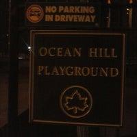 Photo taken at Ocean Hill Playground by Geoff G. on 4/2/2014