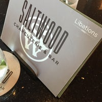 Photo taken at Saltwood Charcuterie & Bar by Jim B. on 5/22/2015